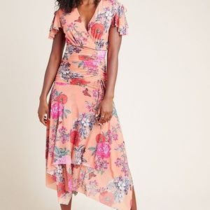 SIMONE FLORAL MIDI DRESS by Maeve
